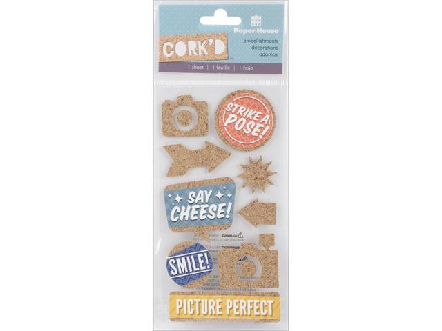 Cork'd Embellishments-Picture Perfect