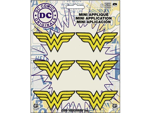 Patch - DC Comics - Wonder Woman Logo Set Iron On Gifts Toys p-dc-0129-s