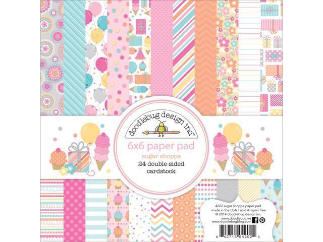 Sugar Shoppe Paper Pad 6