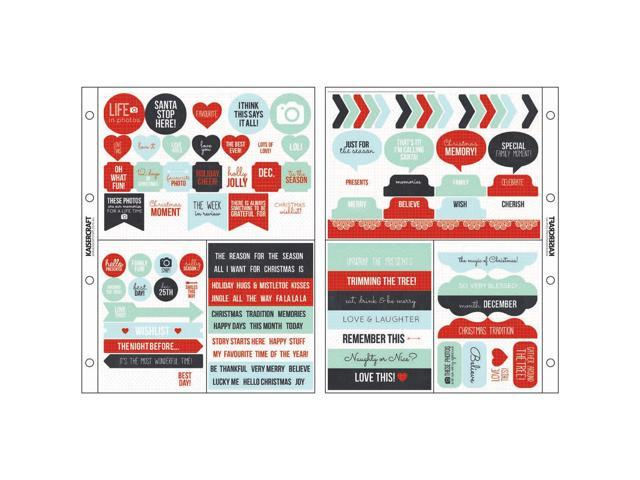 Captured Moments Pocket Stickers 6.75