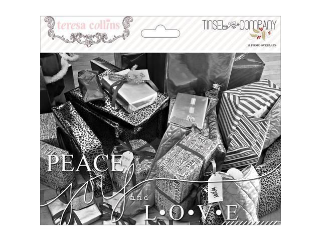 Tinsel & Company Photo Overlays 10/Pkg-