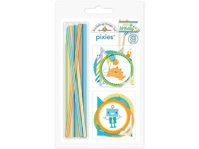 Hip Hip Hooray Pixies & Flags Assortment Pack-Makes Embellishments