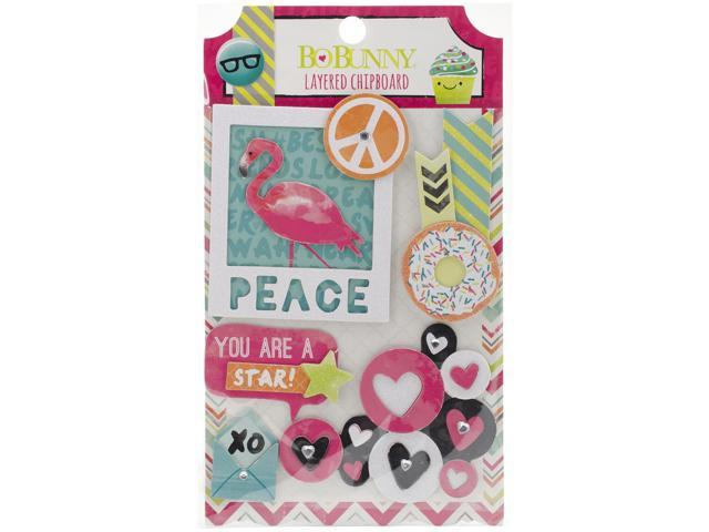#Forever Young Self-Adhesive Layered Chipboard-