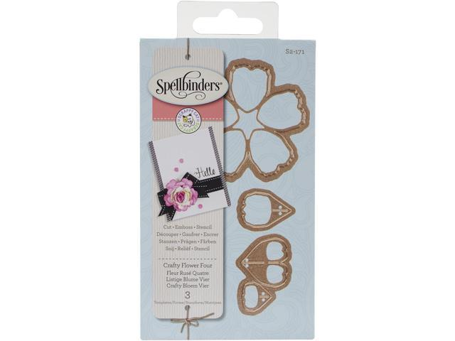 Spellbinders Designer Die-Crafty Flower 4 By Scrappy Cat