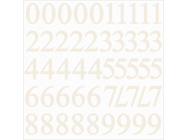 Number Stickers 12