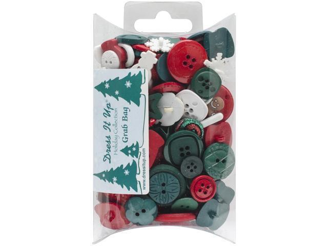 Dress It Up Embellishments Grab Bag-Christmas