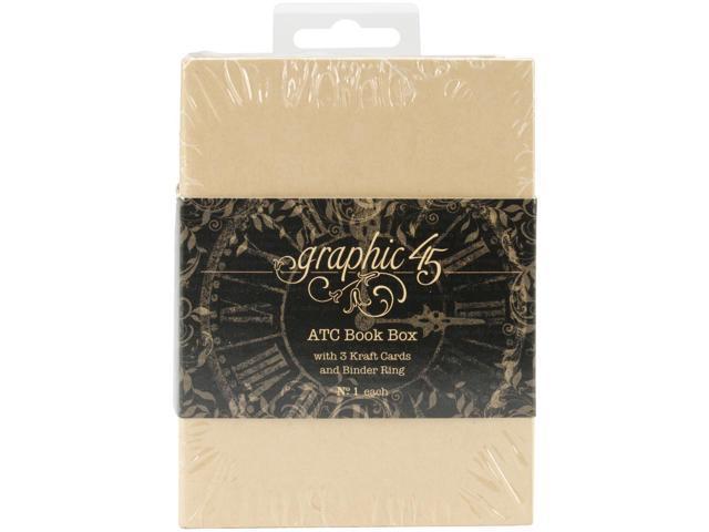 Staples Atc Cards Book Box -Kraft