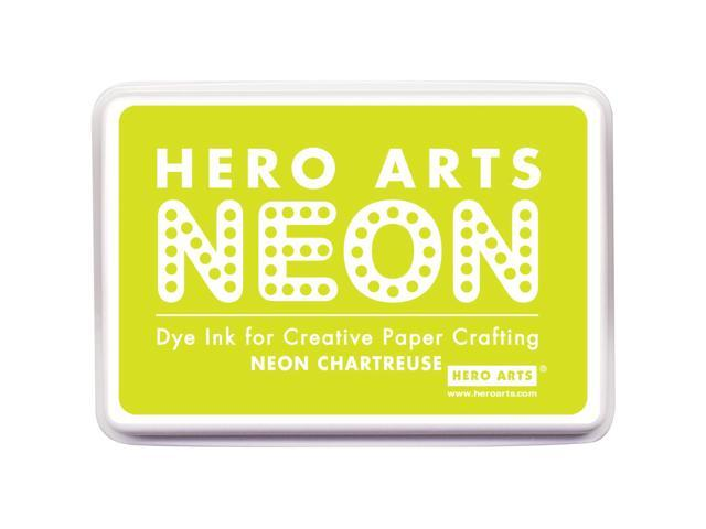 Hero Arts Neon Ink Pad-Chartreuse