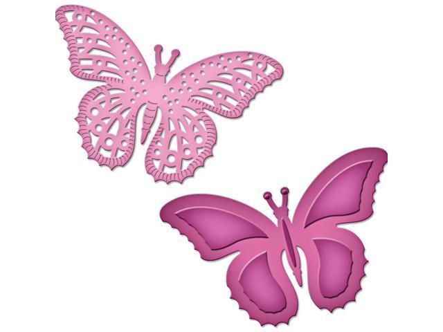 Spellbinders Shapeabilities Die D-Lites-Flutters
