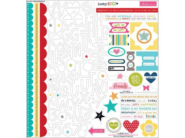 Lucky Starz Cardstock Stickers 12