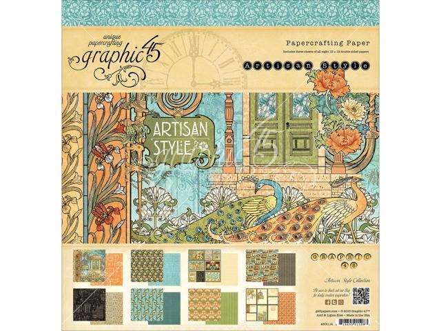 Graphic 45 Paper Pad 12