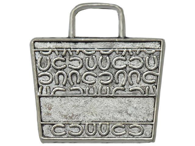 Silver Embellishments 10/Pkg-Beach Bag