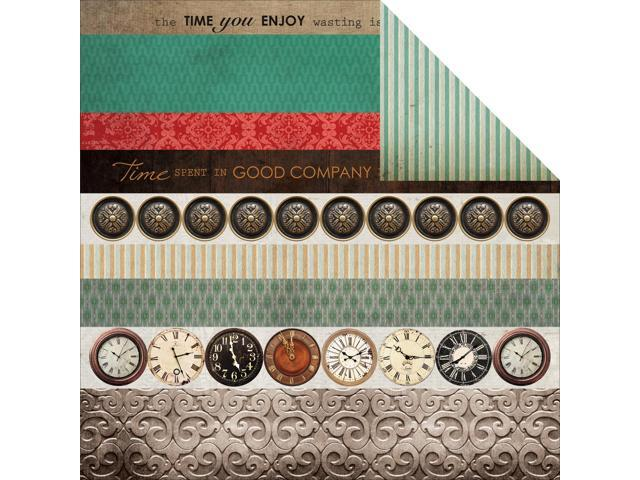 Antique Bazaar Double-Sided Cardstock 12