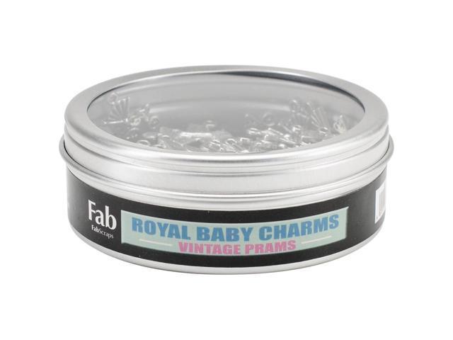 Silver Embellishments 30/Pkg-Pram