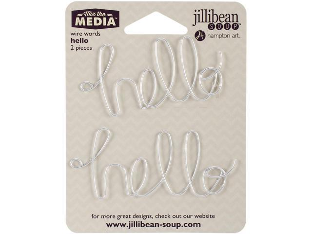 Mix The Media Wire Words 2/Pkg-Hello