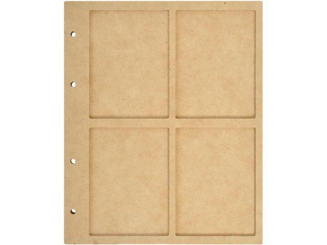 Beyond The Page Mdf 4 Window Display Album W/10 Pockets-6.75