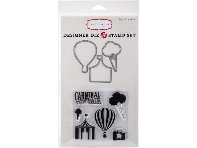 Carta Bella Die & Stamp Combo Set-Carnival Fun