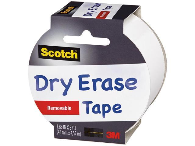 Scotch Dry-Erase Tape 1.88