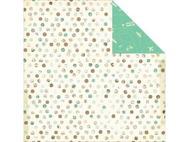 Hello World Double-Sided Cardstock 12