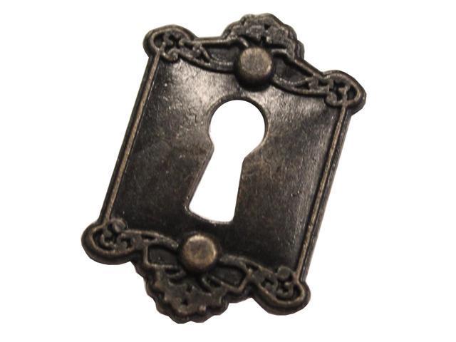 Brass Embellishments 20/Pkg-Frame Lock