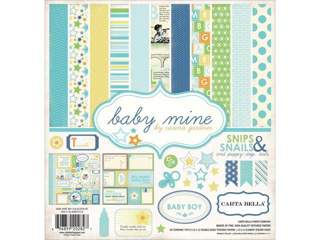 Baby Mine Boy Collection Kit 12