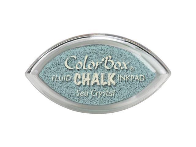 Colorbox Fluid Chalk Cat's Eye Ink Pad-Sea Crystal
