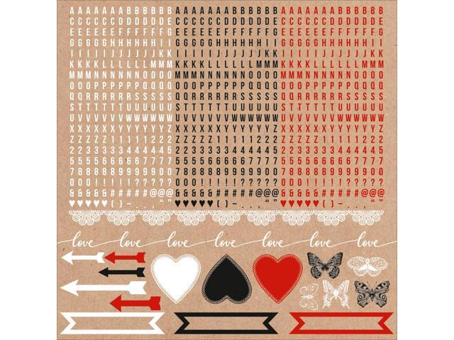 Mix & Match Cardstock Stickers 12