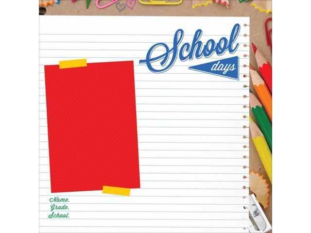 2 Cool 4 School Spot Varnish Cardstock 12