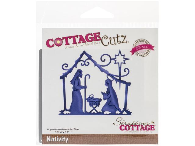 Cottagecutz Elites Die -Nativity
