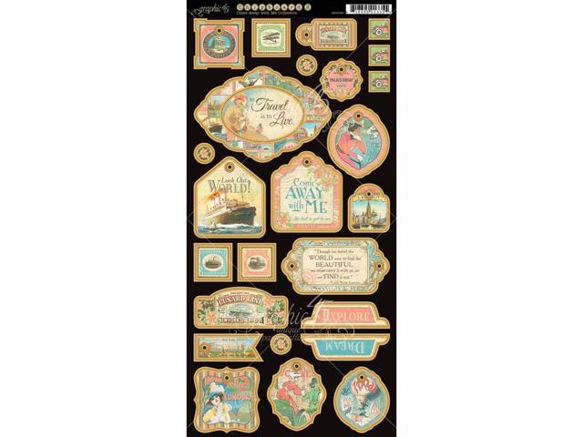 Come Away With Me Chipboard Die-Cuts 6