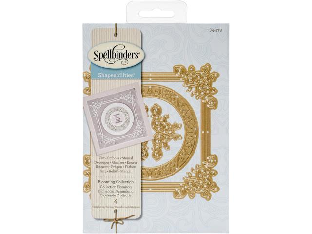 Spellbinders Shapeabilities Dies-Blooming Collection