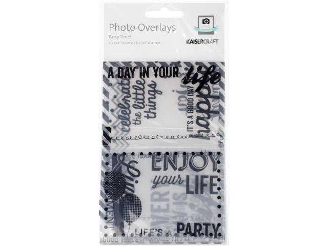 Photo Overlays 16/Pkg-Party Time!