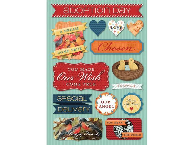 Adoption Cardstock Stickers 5.5