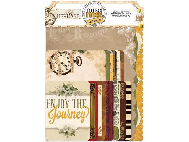 Misc Me Journal Contents-Heritage