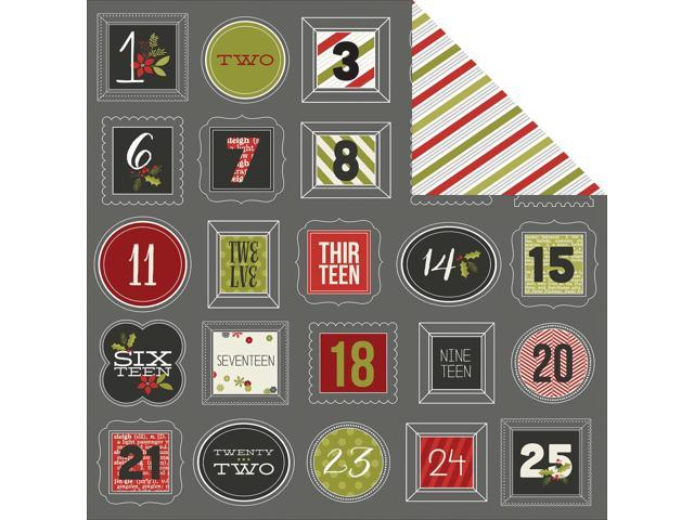 Diy Christmas Double-Sided Cardstock 12