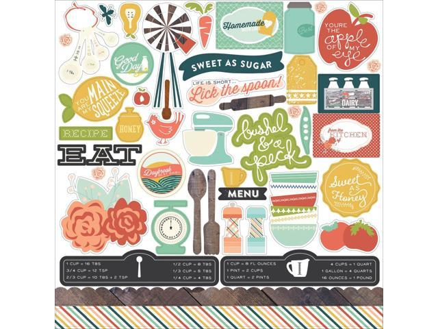Made From Scratch Cardstock Stickers 12