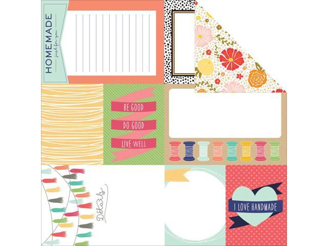 Handmade Double-Sided Cardstock 12