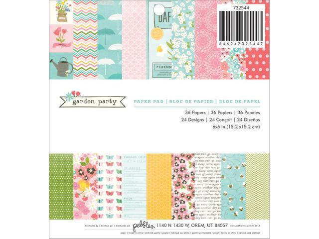 Garden Party Paper Pad 6
