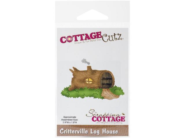 Cottagecutz Die-Critterville Log House 2.9