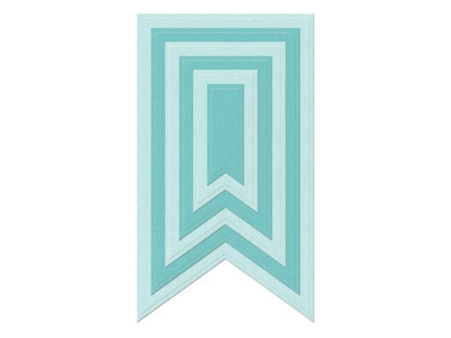 Lifestyle Nesting Dies 6/Pkg-Party Banners, .6