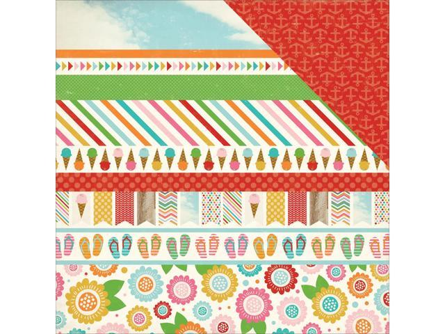 Soak Up The Sun Double-Sided Cardstock 12