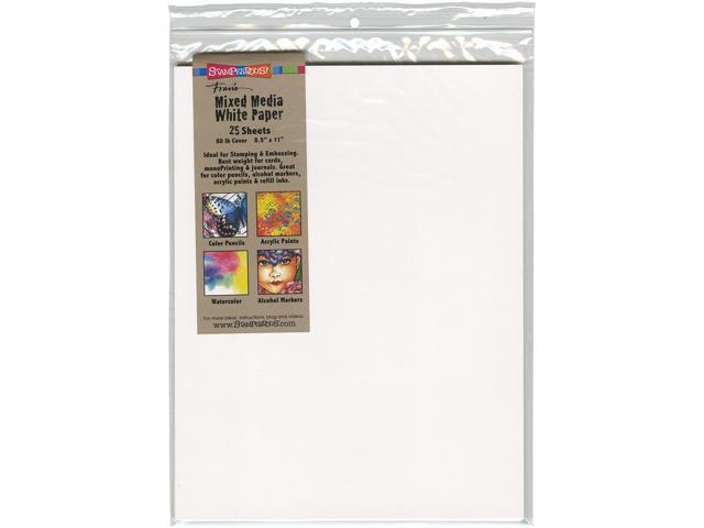 Stampendous White Paper 8.5
