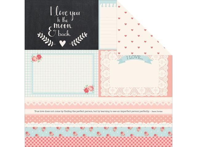Xo Double-Sided Cardstock 12