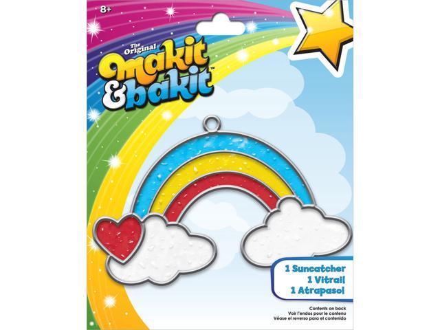Makit & Bakit Suncatcher Kit-Rainbow With Clouds