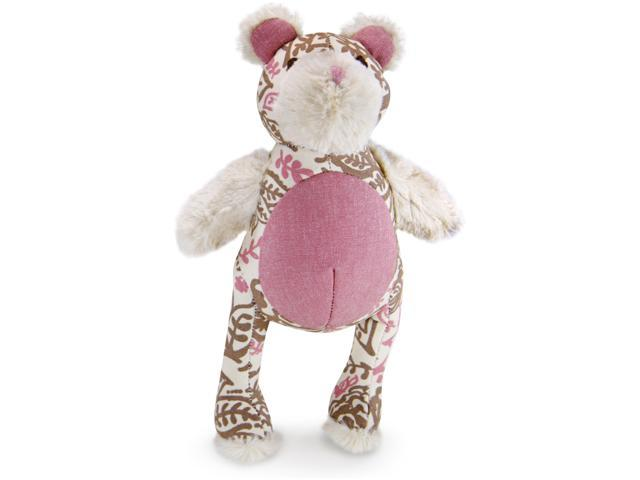Loved Ones Durable Bear Dog Toy-Pink