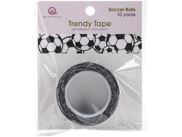 Queen & Co. Trendy Tape-Soccer Balls