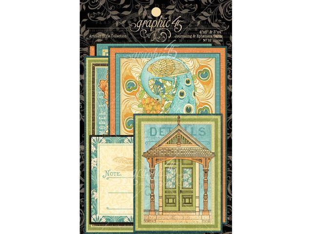 Artisan Style Ephemera Cards 4