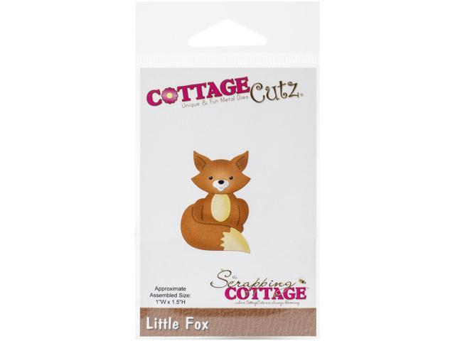 Cottagecutz Die-Little Fox 1