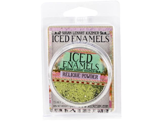 Iced Enamels .5Oz-Chartreuse Relique