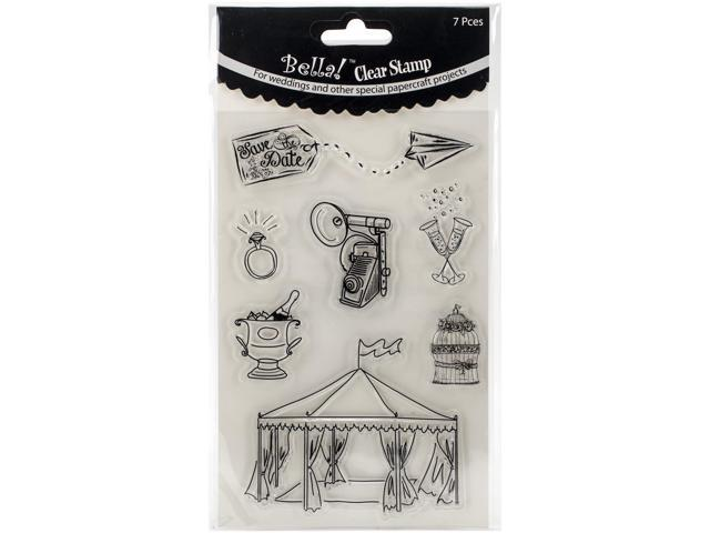 Bella! Wedding Clear Stamps-